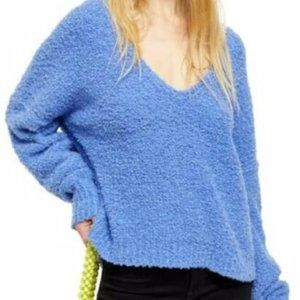Free People Finders Keepers V Neck Sweater Medium